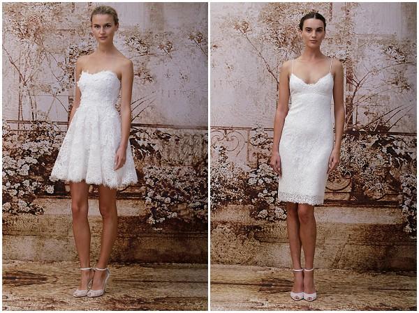 Civil style wedding dresses