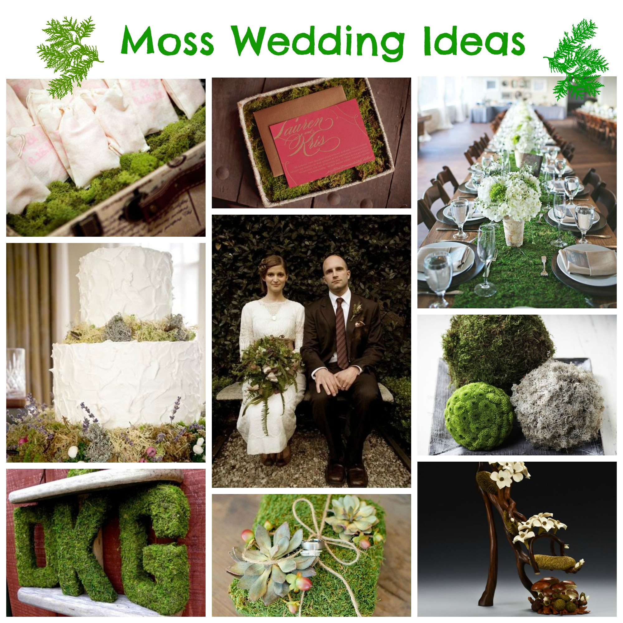 Wedding Ideas Vogue: The Natural Choice