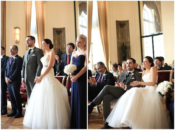 official wedding Paris