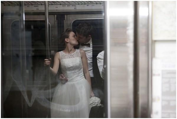 paris metro wedding