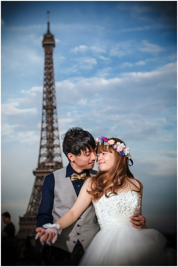 photo session eiffel tower