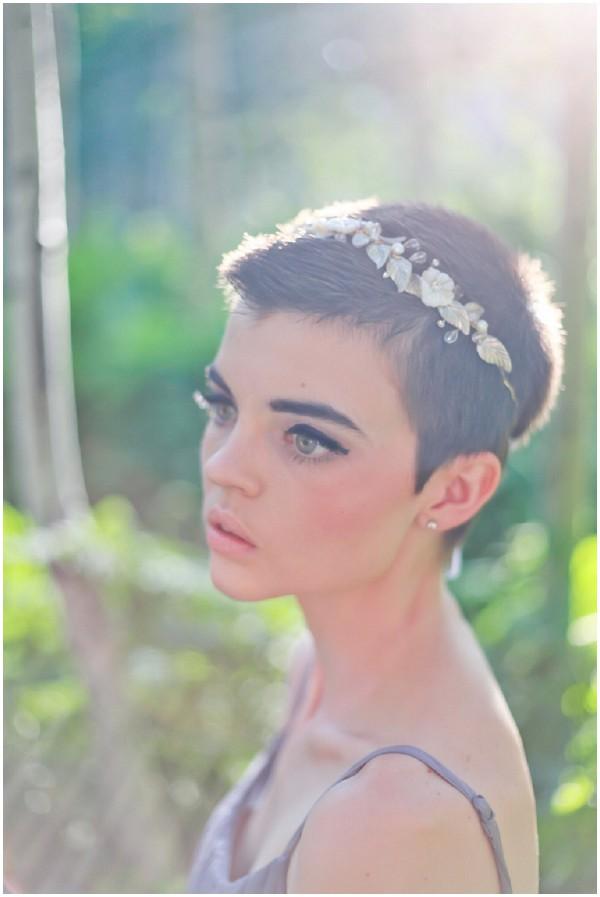 pixie bridal style