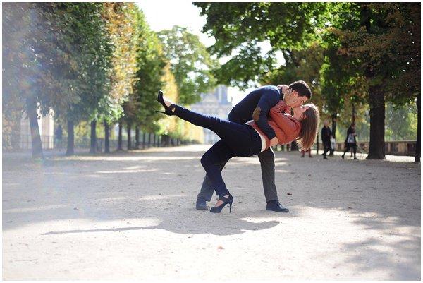 romantic portrait session paris