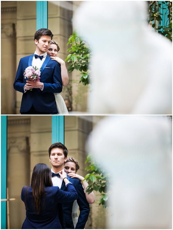 take a peek behind a styled wedding shoot