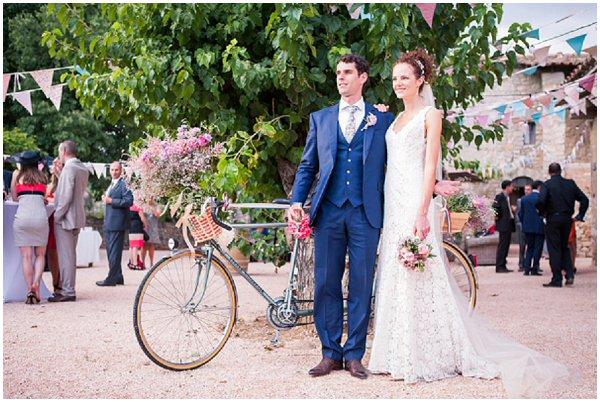 Tandem Bike Wedding