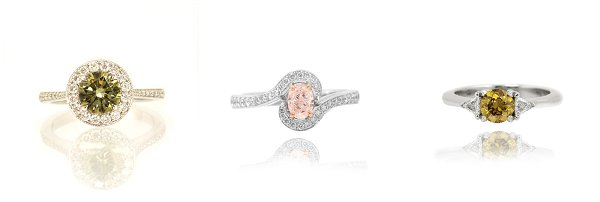 unusual diamond rings
