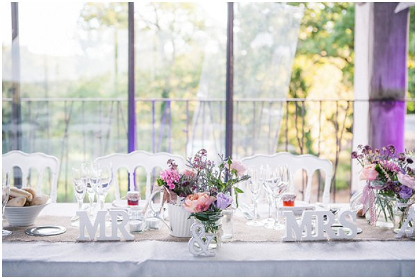 village fete wedding table