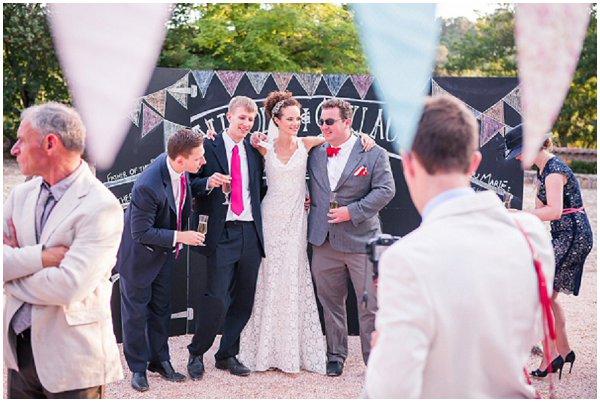 wedding bunting france