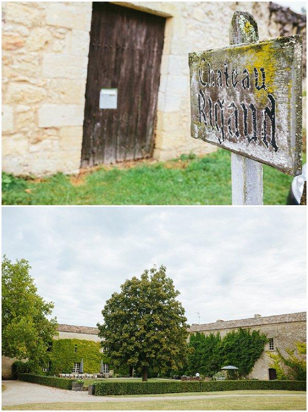 wedding chateau rigaud