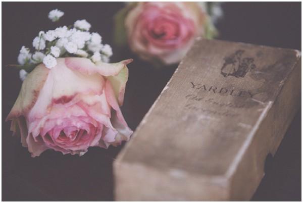antique wedding roses