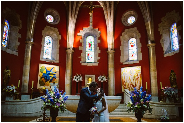 basque church wedding