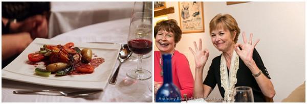 Gourmet food tour around France