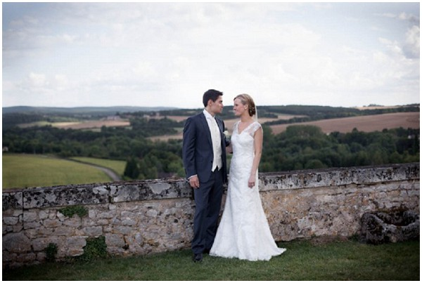Central France wedding in the countryside