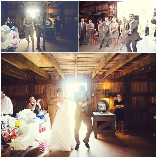 dancing bride groom entrance