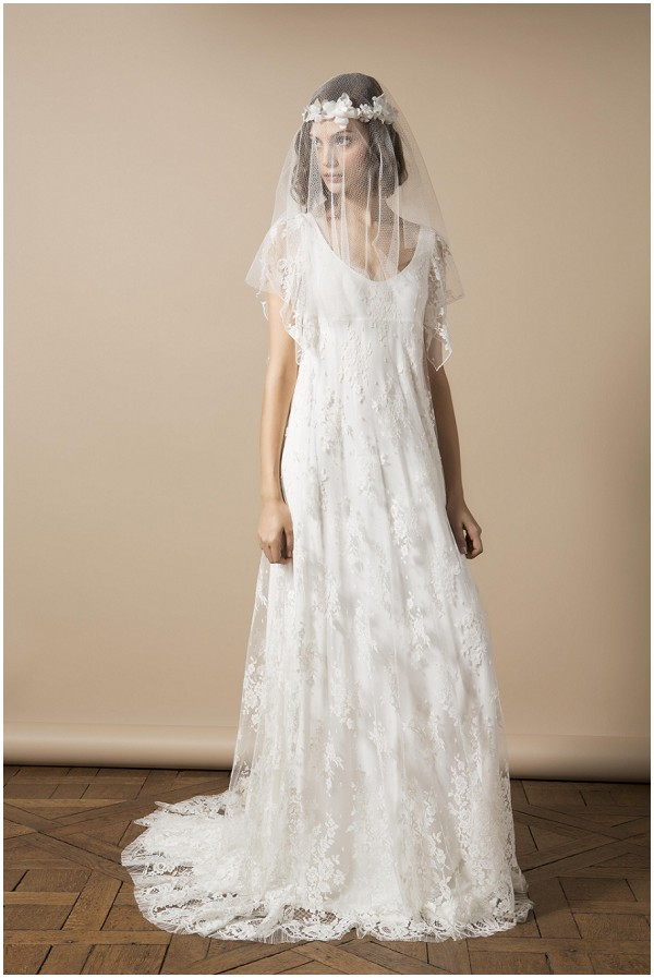 French Bridal Designer Delphine Manivet Modern Wedding Dress Boho