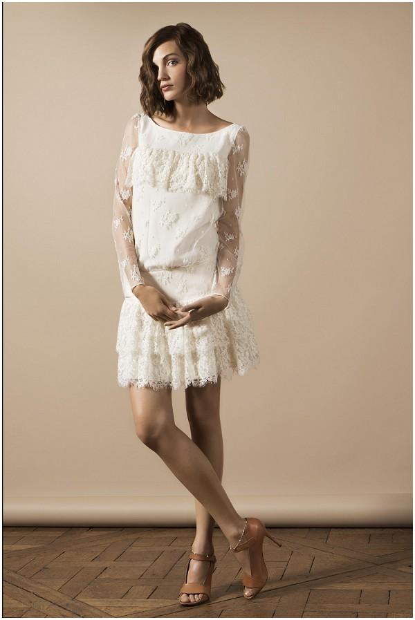 delphine manivet modern wedding dress