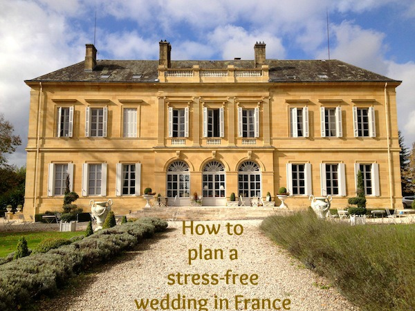how to plan wedding in france