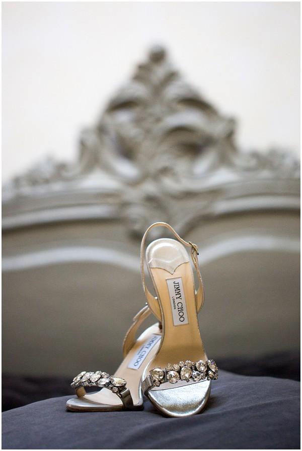jimmy choo silver shoes