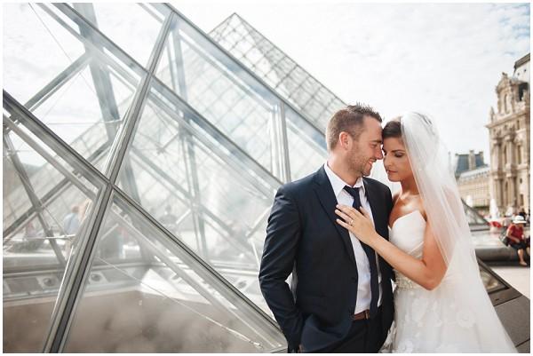 louvre pyramid wedding