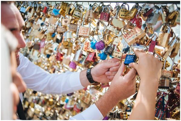 love locks paris