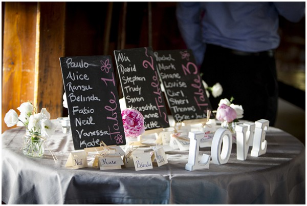 love reception table