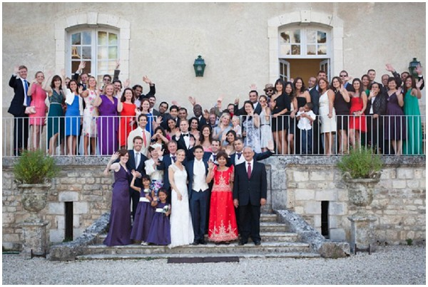 Large group pictures of marrying abroad