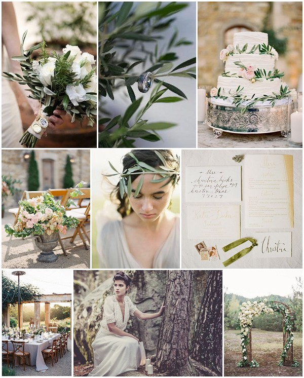 Wedding Ideas And Inspirations: Love In The Olive Grove Wedding Inspiration