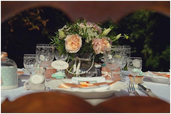 peach table design