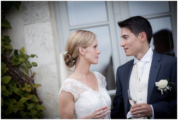 Claire and José who planned their wedding in France | Florence Jamart Photograph