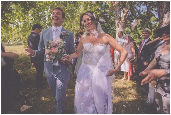 pretty outdoor wedding
