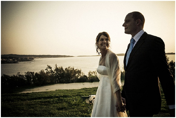 Sunset walk on the French Riviera  © Provence Wedding Photography