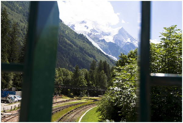 red cog train chamonix
