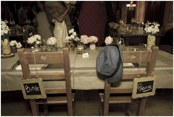 rustic bride groom chairs