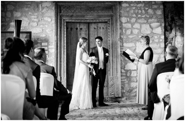 Rustic wedding in France