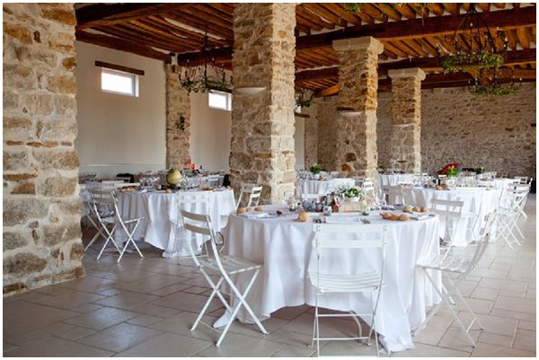 rustic wedding reception paris