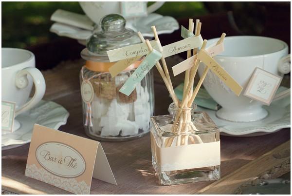 rustic wedding table