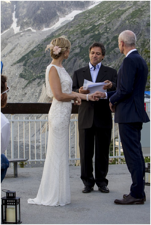 wedding ceremony chamonix