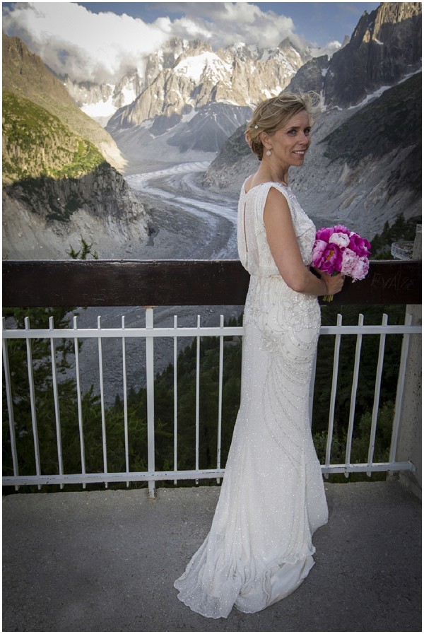 wedding dress for chamonix