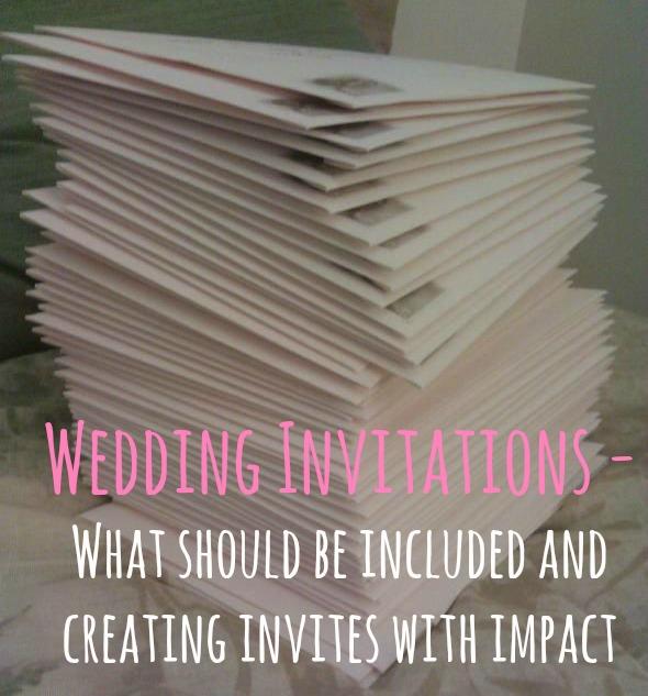 wedding invitations with impact