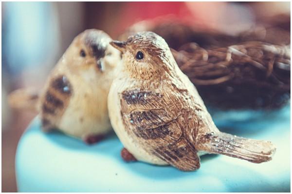 wedding lovebird toppers