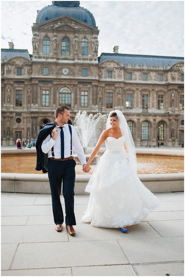 wedding photos louvre