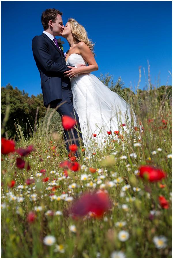 wedding poppy field