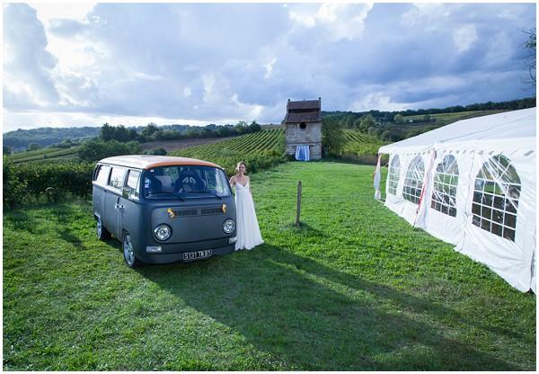 2cv wedding camper