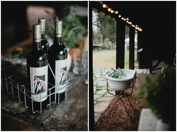 barn weddings drinks