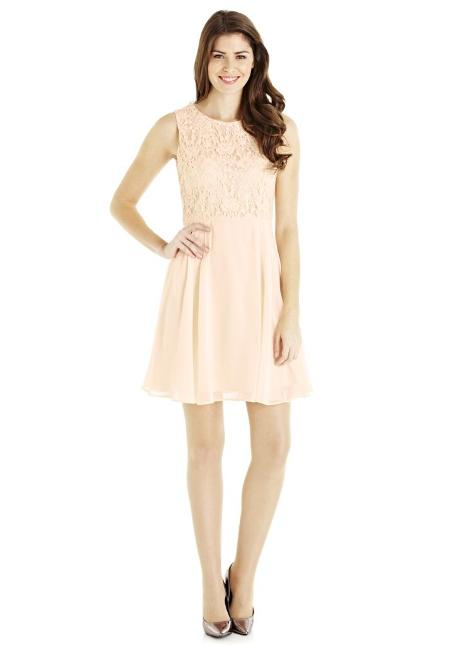 blush bridesmaids dress tesco
