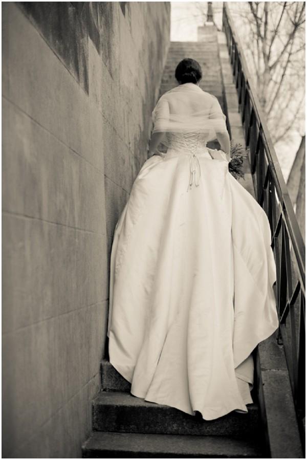 dramatic bridal potography