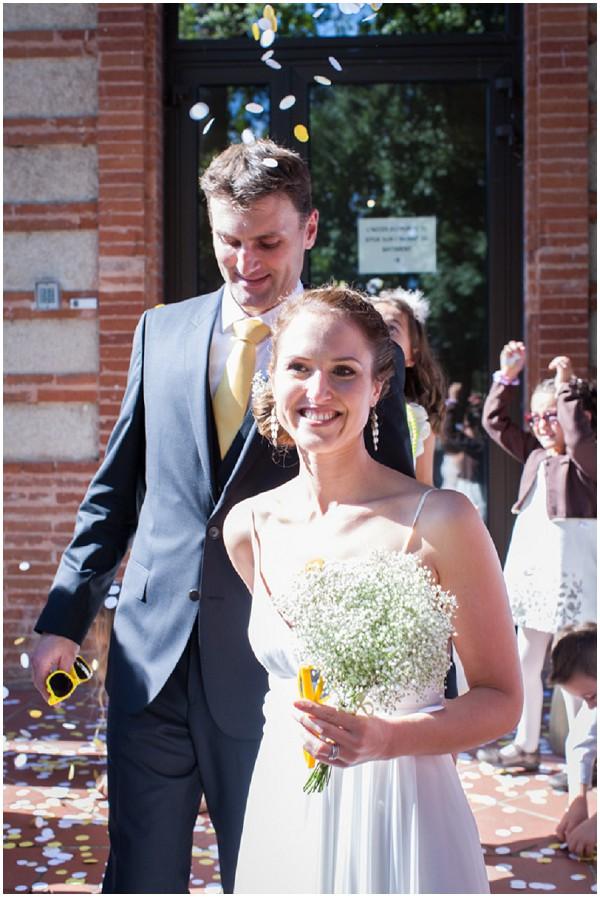 french wedding couple
