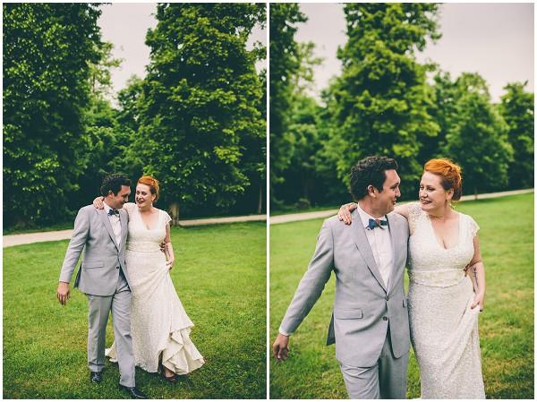 informal French wedding