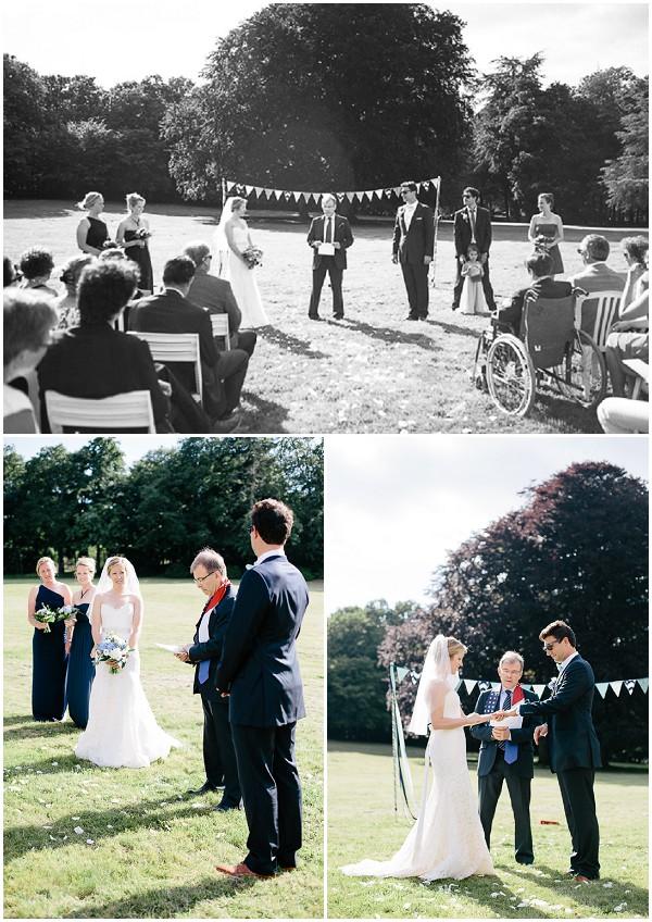 lawn wedding france