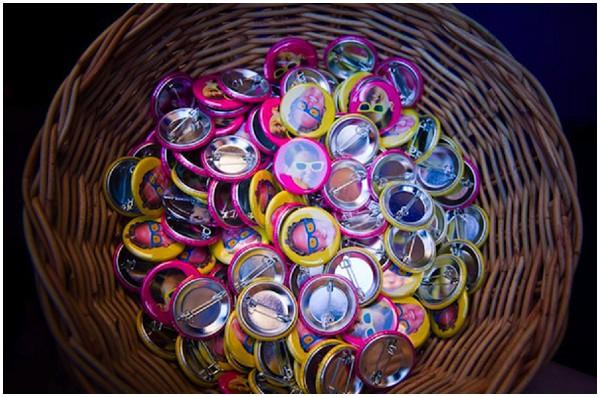 neon pin badges